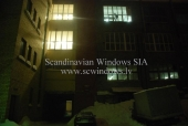 Replacement of window units - Staburadzes confectionery Artilerijas street, Riga